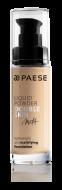 Тональный крем для жирной и комбинированной кожи Paese Matt Liquid Powder Double Skin тон 40М: фото