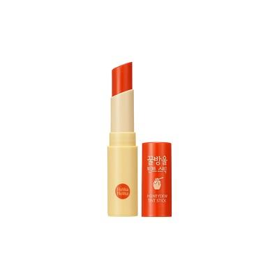 Тинт-бальзам для губ Honey Dew Tint Stick Holika Holika 03 Orange: фото