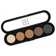 Палитра теней, 5 цветов Make-up Atelier Paris T01s натуральные тона: фото