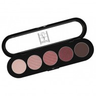 Палитра теней, 5 цветов Make-Up Atelier Paris T10 коричнево-сиреневые тона: фото