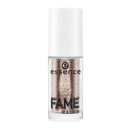 Рассыпчатые блестки для ногтей Fame In A Bottle Essence 02 золотой шиммер: фото