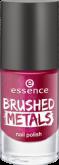 Лак для ногтей Вrushed metals nail polish Essence 04 ярко-розовый металик