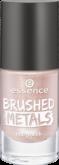 Лак для ногтей Вrushed metals nail polish Essence 02 нежно-розовый металлик