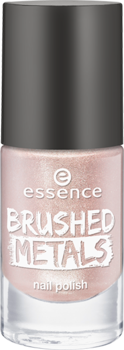 Лак для ногтей Вrushed metals nail polish Essence 02 нежно-розовый металлик: фото