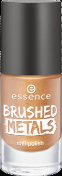 Лак для ногтей Вrushed metals nail polish Essence 03 золотой: фото