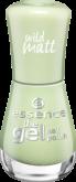 Лак для ногтей The gel Essence 104 зеленый чай с матовым эффектом