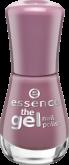Лак для ногтей The gel Essence 102 розовато-лиловый