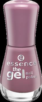 Лак для ногтей The gel Essence 102 розовато-лиловый: фото