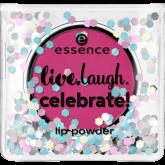 Пудра для губ Live.laugh.celebrate! Essence 02
