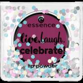 Пудра для губ Live.laugh.celebrate! Essence 01