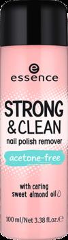 Жидкость для снятия лака Strong & clean nail polish remover Essence 01: фото