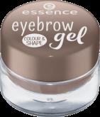 Оттеночный гель для бровей Eyebrow gel colour & shape Essence 02 для блондинок