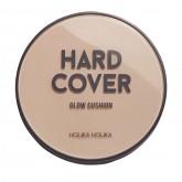 Кушон + рефил Holika Holika Хард Кавэр Глоу с высокой плотностью покрытия, тон 04, песочный, увлажняющий, 14 г*2 шт