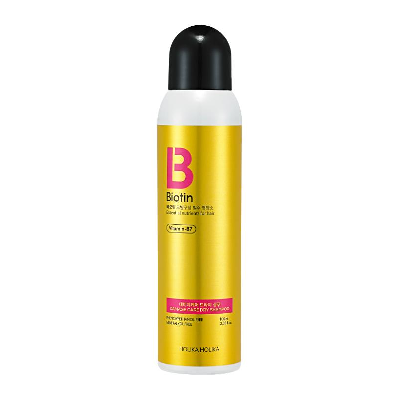Сухой шампунь для волос Биотин Holika Holika, 100мл,: фото