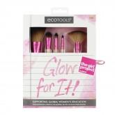 Набор кистей для макияжа Glow For It EcoTools