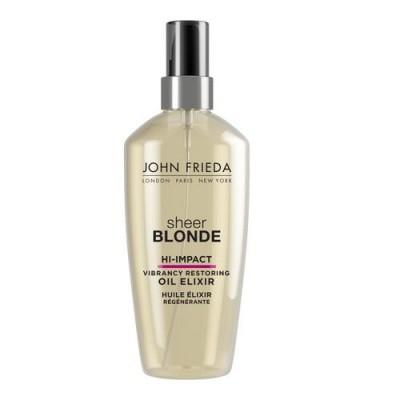 Масло-эликсир для восстановления сильно поврежденных волос Sheer Blonde HI-IMPACT 100 мл: фото