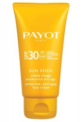 Защитный антивозрастной крем для лица spf 30 Payot Les Solaires 50 мл: фото