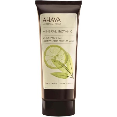 Бархатистый крем для рук Ahava Mineral Botanic лимон и шалфей 100 мл: фото