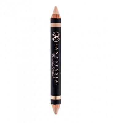 Карандаш-хайлайтер для бровей Anastasia Beverly Hills Highlighting Duo Pencil Camille/Sand: фото
