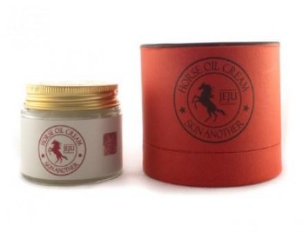Крем питательный с конским жиром FARMSTAY Skin another horse oil cream 70 г: фото