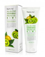 Пилинг гель с экстрактом киви FARMSTAY All-in-one whitening peeling gel kiwi 180 мл: фото
