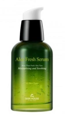 Сыворотка увлажняющая и успокаивающая с алоэ THE SKIN HOUSE Aloe fresh serum 50мл: фото