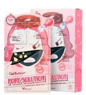 Маска трехступенчатая для проблемной кожи ELIZAVECCA Pore Solution Super Elastic Mask Pack: фото