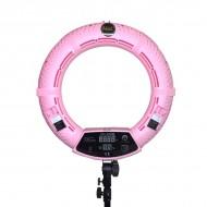 Кольцевая светодиодная лампа Yidoblo FD-480 LL розовая: фото