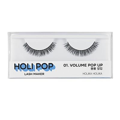 Накладные ресницы HOLI POP LASH MAKER 01 VOLUME POP UP: фото