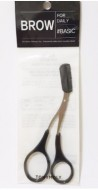 Ножницы для коррекции бровей TONY MOLY Eyebrow comb scissors: фото