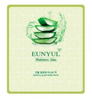 Тканевая маска с алоэ EUNYUL Aloe mask pack 30мл: фото
