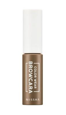 Тушь для бровей MISSHA Color Wear Browcara Dark Choco Brown: фото