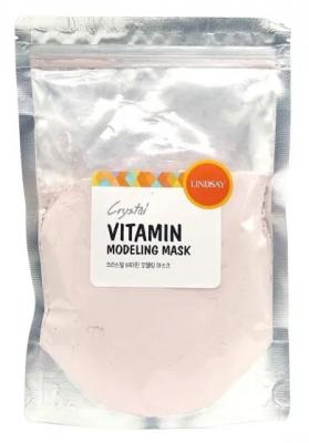 Альгинатная маска для лица с витаминами LINDSAY vitamin modeling mask pack zipper 240г: фото
