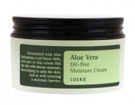 Крем для лица увлажняющий COSRX Aloe Vera Oil-free Moisture Cream 100мл: фото