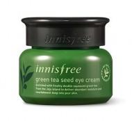 Крем глубокоувлажняющий вокруг глаз с семенами зеленого чая INNISFREE THE Green tea seed eye cream 30мл: фото