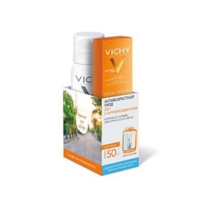 Солнцезащитный крем SPF50 VICHY АНТИ-АЖ 50 мл + ТВ 50 мл в подарок: фото