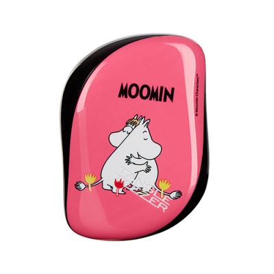 Расческа TANGLE TEEZER Compact Styler Moomin Pink розовый: фото