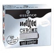 Эффектная пудра для ногтей ЕSSENCE Melted Chrome 06 серебро: фото