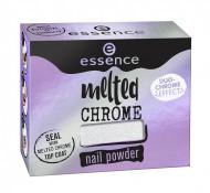 Эффектная пудра для ногтей ЕSSENCE Melted Chrome 03 сиреневый: фото