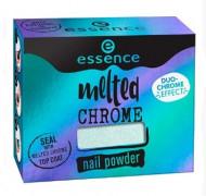 Эффектная пудра для ногтей ЕSSENCE Melted Chrome 02 бирюзовый: фото