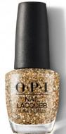 Лак для ногтей OPI HOL18 Nail Lacquer Gold Key tot he Kingdom HRK13: фото