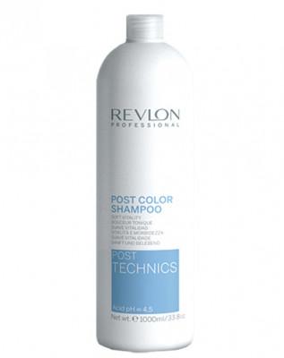 Шампунь после окрашивания Revlon Professional Post Color Shampoo 1000мл: фото