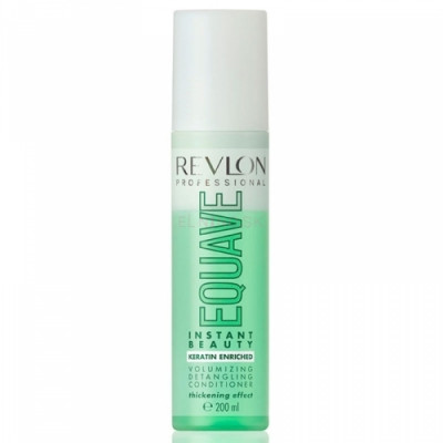 Несмываемый кондиционер д/тонких волос Revlon Professional, Equave IB Volumizing Detangling Conditioner 200мл: фото