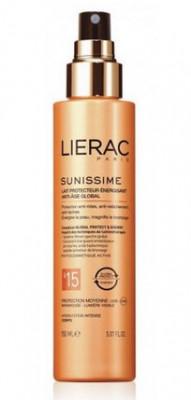 Молочко солнцезащитное тонизирующее SPF30 Lierac Sunissime 150 мл: фото