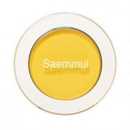 Тени для век матовые THE SAEM Saemmul Single Shadow Matte YE03 Lemon Candy Yellow 1,6гр: фото