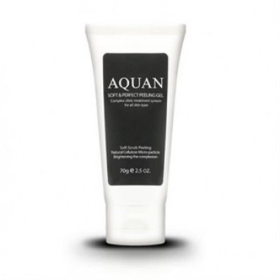 Гель-скатка для лица Anskin Aquan Soft & Perfect Peeling Gel 70гр: фото
