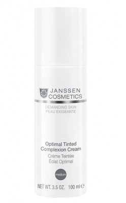Крем дневной Janssen Cosmetics Optimal Tinted Complexion Cream Medium SPF10 100мл: фото