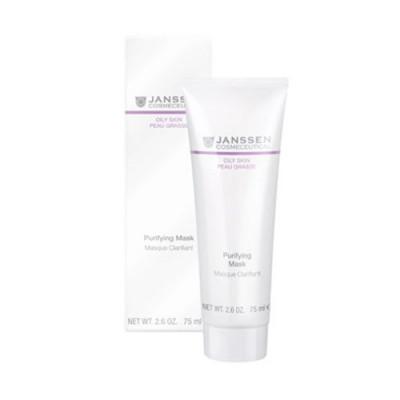 Маска себорегулирующая очищающая Janssen Cosmetics Purifying mask 75мл: фото