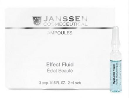 Сыворотка ультраувлажняющая с гилауроновой кислотой Janssen Cosmetics Hyaluron Fluid 3*2мл: фото