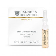 Сыворотка-лифтинг с пептидами Janssen Cosmetics Skin Contour Fluid 3*2 мл: фото